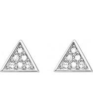 Thomas Sabo D-H0002-725-14 As senhoras de glam e alma 925 esterlina brincos de prata com diamantes