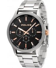 Police 15002JS-02M Relógio de ritmo dos homens