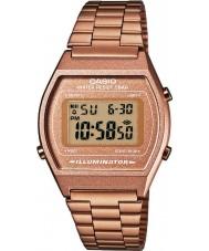 Casio B640WC-5AEF Senhoras retro digital de recolha aumentou relógio de ouro