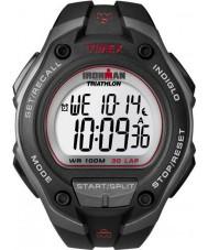 Timex T5K417 Mens ironman preto de 30 voltas relógio do esporte oversize