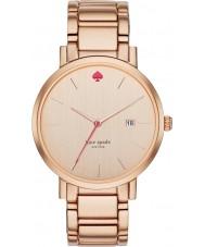 Kate Spade New York 1YRU0641 Ladies gramercy Grand Rose banhado a ouro pulseira relógio