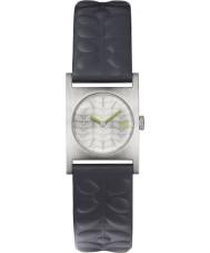 Orla Kiely OK2127 Ladies nemo relógio com pulseira de couro da marinha