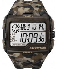 Timex TW4B07300 Mens grade de choque resina marrom relógio de pulseira