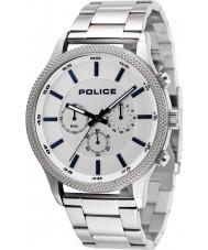 Police 15002JS-04M Relógio de ritmo dos homens