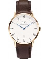 Daniel Wellington DW00100086 Mens dapper 38 milímetros Bristol subiu relógio de ouro