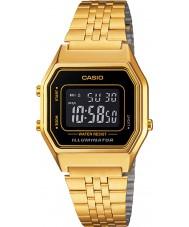 Casio LA680WEGA-1BER Colecção de ouro clássico relógio banhado