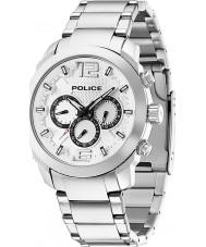Police 13934JS-04M Mens triunfar relógio de aço de prata