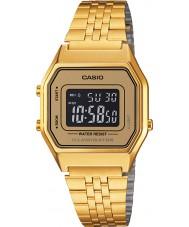 Casio LA680WEGA-9BER Colecção de ouro clássico relógio banhado