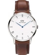 Daniel Wellington DW00100087 Mens dapper 38 milímetros relógio st mawes prata