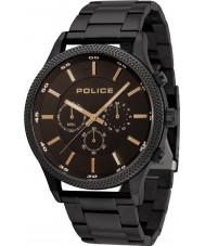 Police 15002JSB-02M Relógio de ritmo dos homens