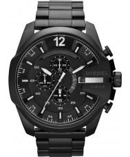 Diesel DZ4283 Mens mega-chefe relógio ip preto cronógrafo