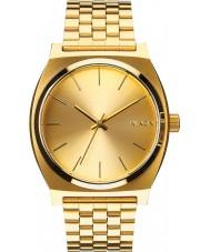 Nixon A045-511 Tempo teller tudo relógio de ouro