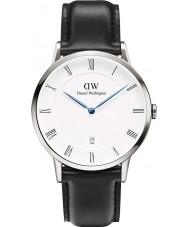 Daniel Wellington DW00100088 Mens dapper 38 milímetros relógio Sheffield prata