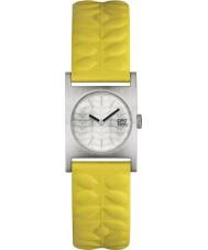 Orla Kiely OK2129 Ladies nemo couro amarelo pulseira de relógio