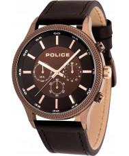 Police 15002JSBN-12 Relógio de ritmo dos homens