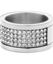 Dyrberg Kern 330961 anel de cristal prata Ladies Emily ii