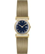 Orla Kiely OK4038 Senhoras cecelia malha de ouro pulseira de relógio