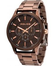 Police 15002JSBN-13M Relógio de ritmo dos homens