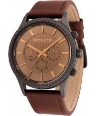 Police 15002JSU-13 Relógio de ritmo dos homens