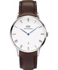 Daniel Wellington DW00100090 Mens dapper 38 milímetros relógio Bristol prata