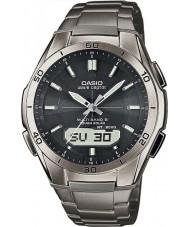 Casio WVA-M640TD-1AER Mens onda Ceptor titânio relógio movido a energia solar