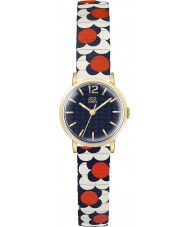 Orla Kiely OK4040 Ladies flor pop vermelho, branco, azul expansão relógio pulseira