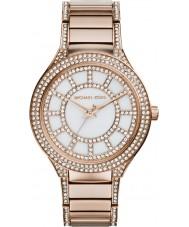 Michael Kors MK3313 Ladies Kerry relógio pulseira de aço de ouro