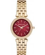 Michael Kors MK3583 Senhoras mini-darci aço ouro pulseira de relógio