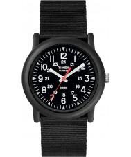 Timex T18581 Mens tudo relógio campista preto