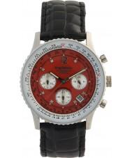 Krug-Baumen 400510DS viajante Air mostrador vermelho cinta preta