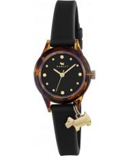 Radley RY2324 Ladies assistir! relógio cinta preta com ouro