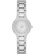 DKNY NY2391 câmaras de Senhoras prata pulseira de relógio