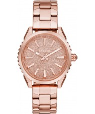 Diesel DZ5502 Ladies nuki pulseira rosa relógio do aço ouro