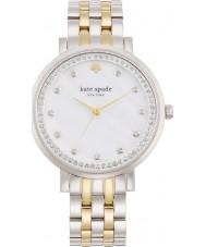Kate Spade New York 1YRU0823 Ladies Monterey prata relógio pulseira de aço