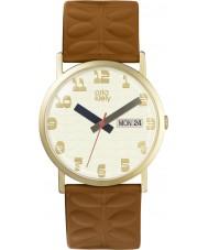 Orla Kiely OK2134 Ladies madison tan couro relógio pulseira