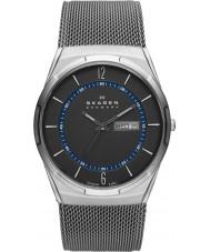 Skagen SKW6078 Mens remanesce cinza relógio de malha de titânio