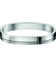 Calvin Klein KJ3PMD09010L Mens construída de prata pulseira de aço de tom