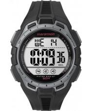 Timex TW5K94600 relógio maratona completa Digital preto e prata crono