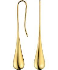 Calvin Klein KJ3QJE100100 Ladies ouro elipse brincos folheados