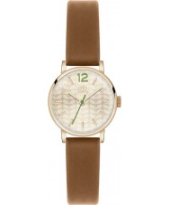 Orla Kiely OK2018 Ladies frankie tan relógio com pulseira de couro