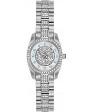 Bulova 96L253 Relógio de cristal feminino
