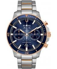Bulova 98B301 Relógio da estrela marinha masculina