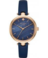 Kate Spade New York KSW1157 Ladies holland de couro azul relógio de pulseira