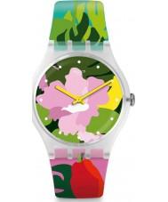 Swatch SUOK132 Relógio de jardim tropical das senhoras