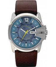 Diesel DZ1399 Mens chefe mestre relógio marrom azul