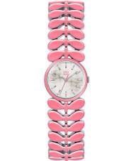 Orla Kiely OK4046 Senhoras laurel de aço pulseira rosa relógio