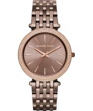 Michael Kors MK3416 Ladies bronze darci pulseira de aço relógio