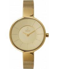Obaku V149LXGGMG Senhoras todo o ouro de malha pulseira de relógio