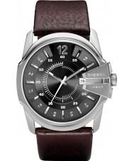 Diesel DZ1206 Mens mestre relógio cinzento marrom chefe