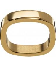 Edblad 2153441876-XS Ladies ouro amarelo jolie anel banhado - tamanho l (xs)